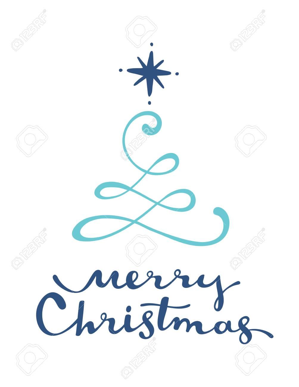 Disegni Di Natale Vettoriali.Disegni Di Alberi Di Natale Stilizzati Albero Di Vettore Di Natale