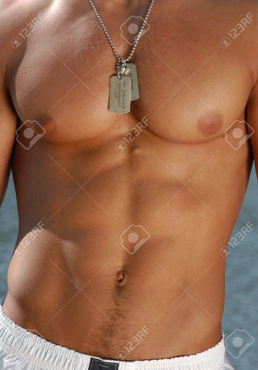Muscular male model Stock Photo - 15483986