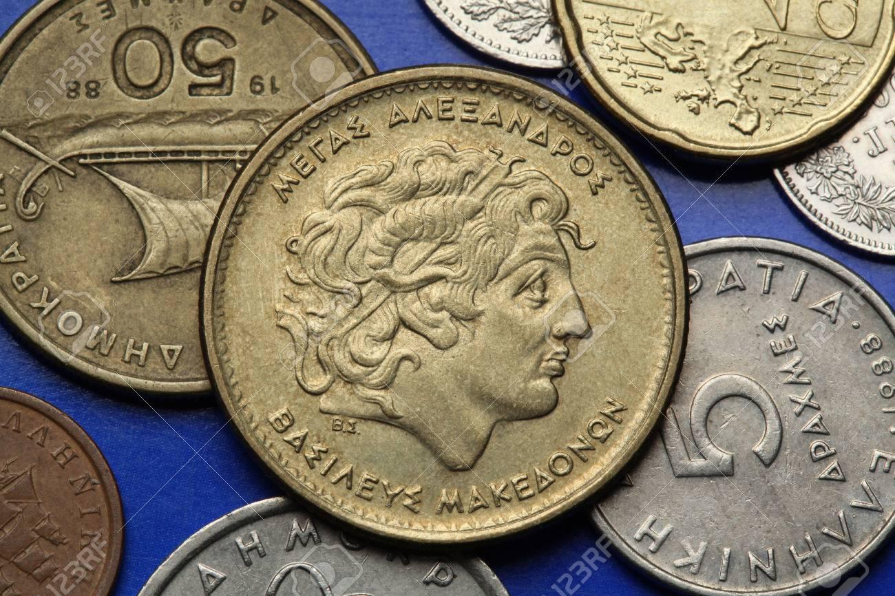 Münzen Von Griechenland Alexander Der Große In Der Alten