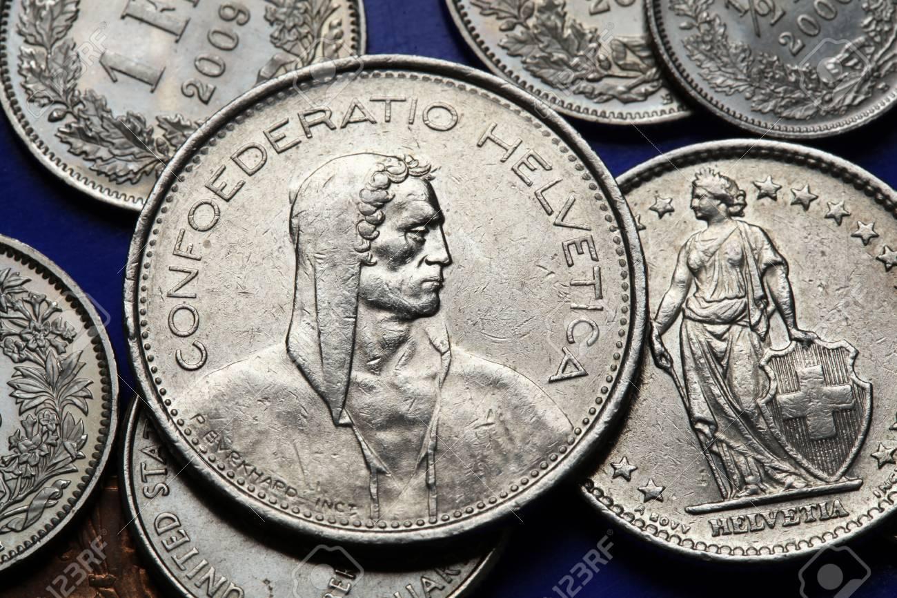 Münzen Der Schweiz Sennen Und In Den Schweizer Franken Münzen