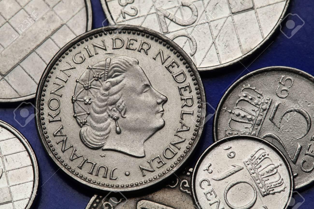 Münzen In Den Niederlanden Königin Juliana Der Niederlande