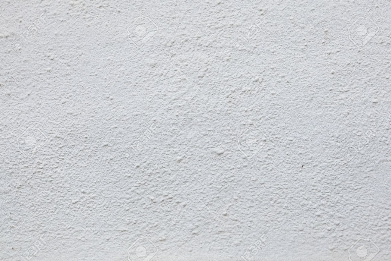 White stucco wall. Background texture. Stock Photo - 53693469