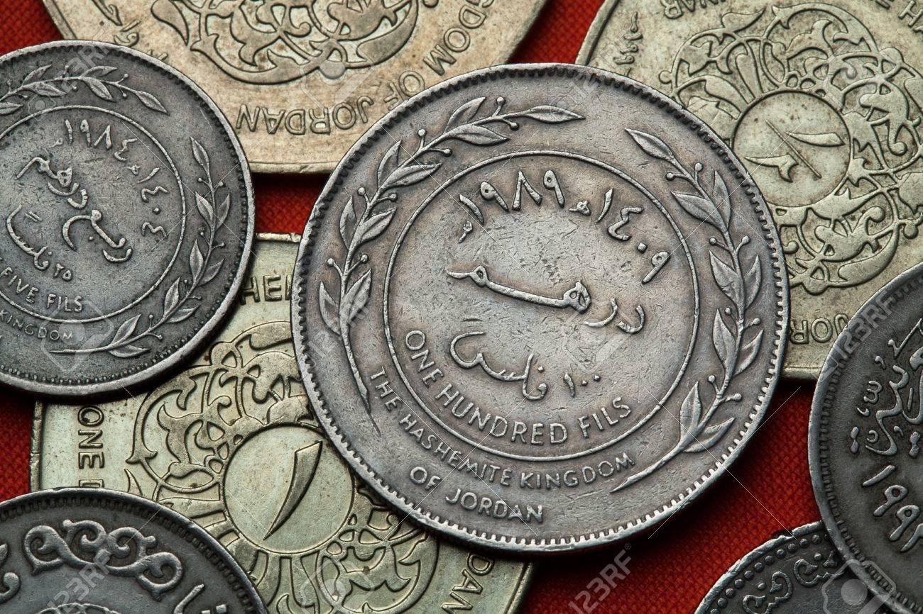 pas mal ac2d9 46fca Coins of Jordan. Jordanian 100 fils coin.