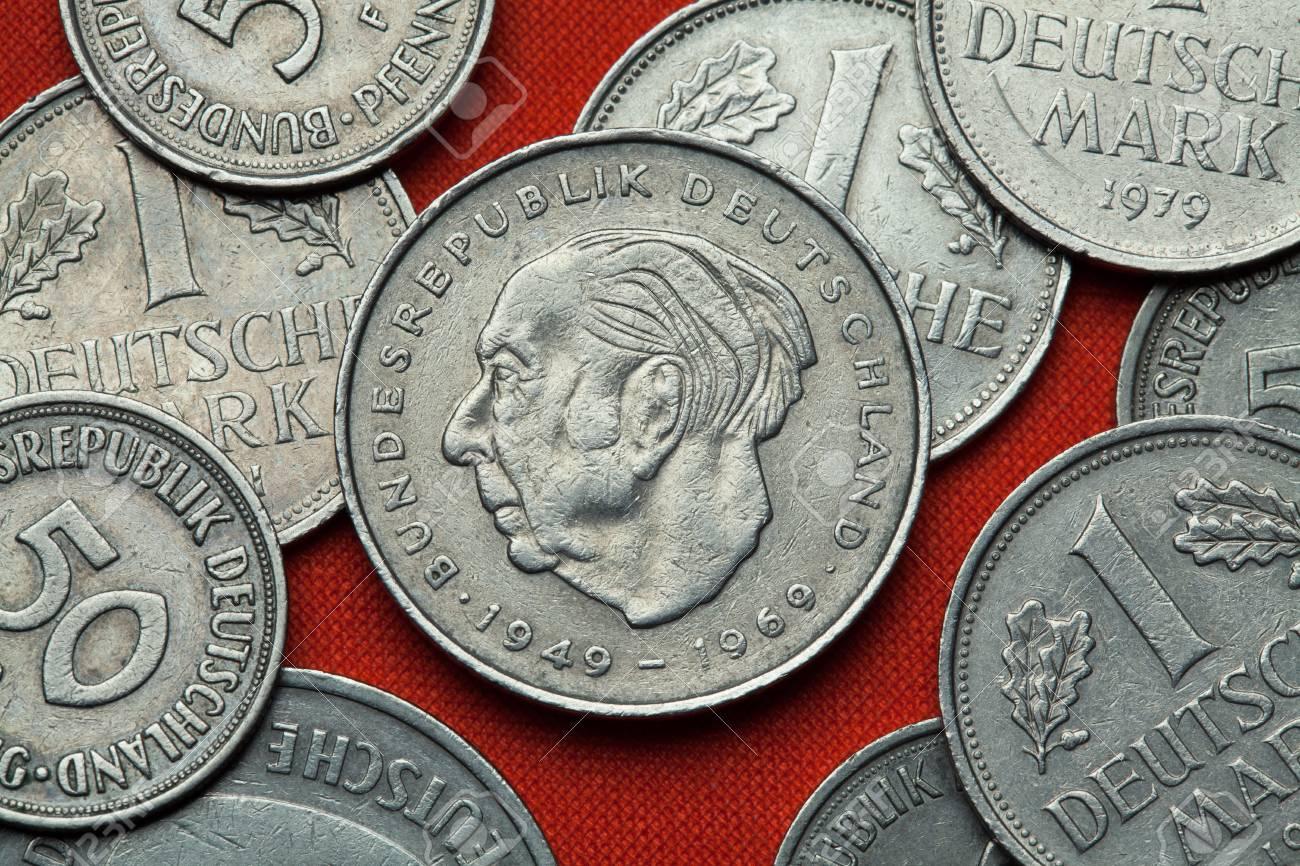 Münzen Aus Deutschland Deutsche Staatsmann Theodor Heuss