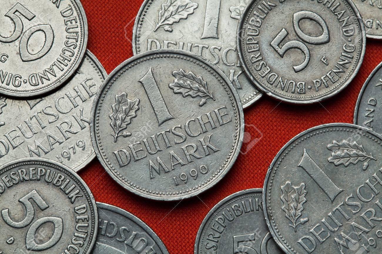 Münzen Aus Deutschland Deutsch Eine Deutsche Mark Münze