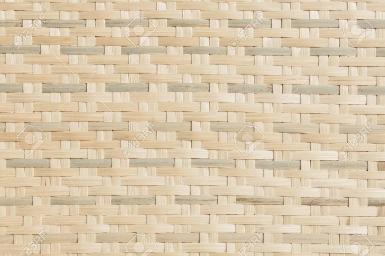 Fondo De Textura De Tejido De Bambú . Fondo De La Cesta De Diseño ...