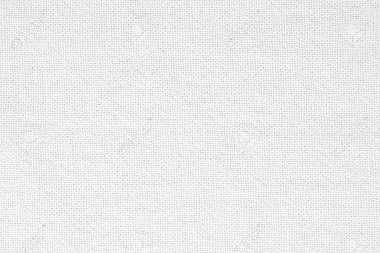 White fabric canvas texture background - 151278246