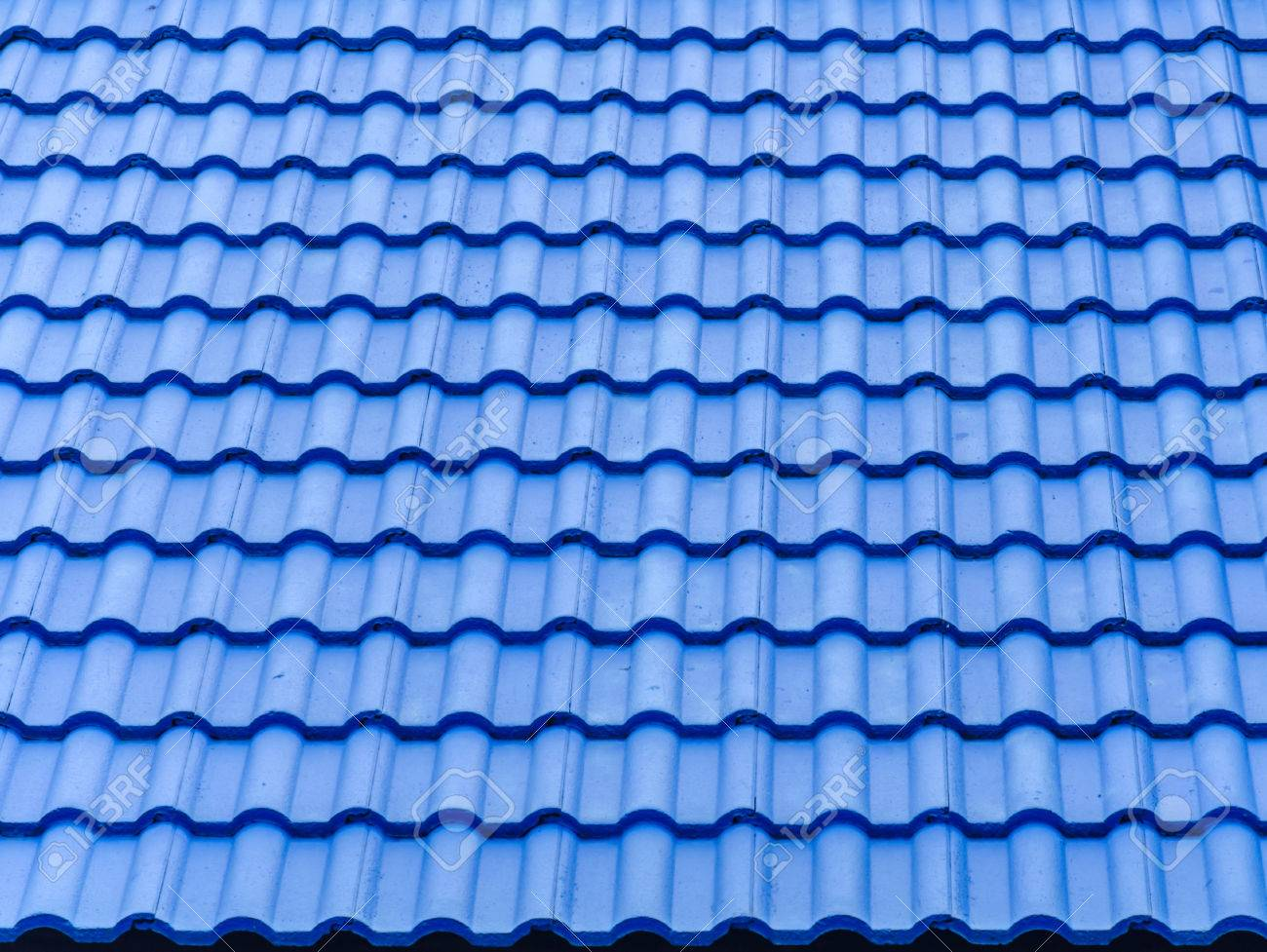 Ceramic tile roof with blue color stock photo picture and royalty ceramic tile roof with blue color stock photo 41204226 dailygadgetfo Choice Image