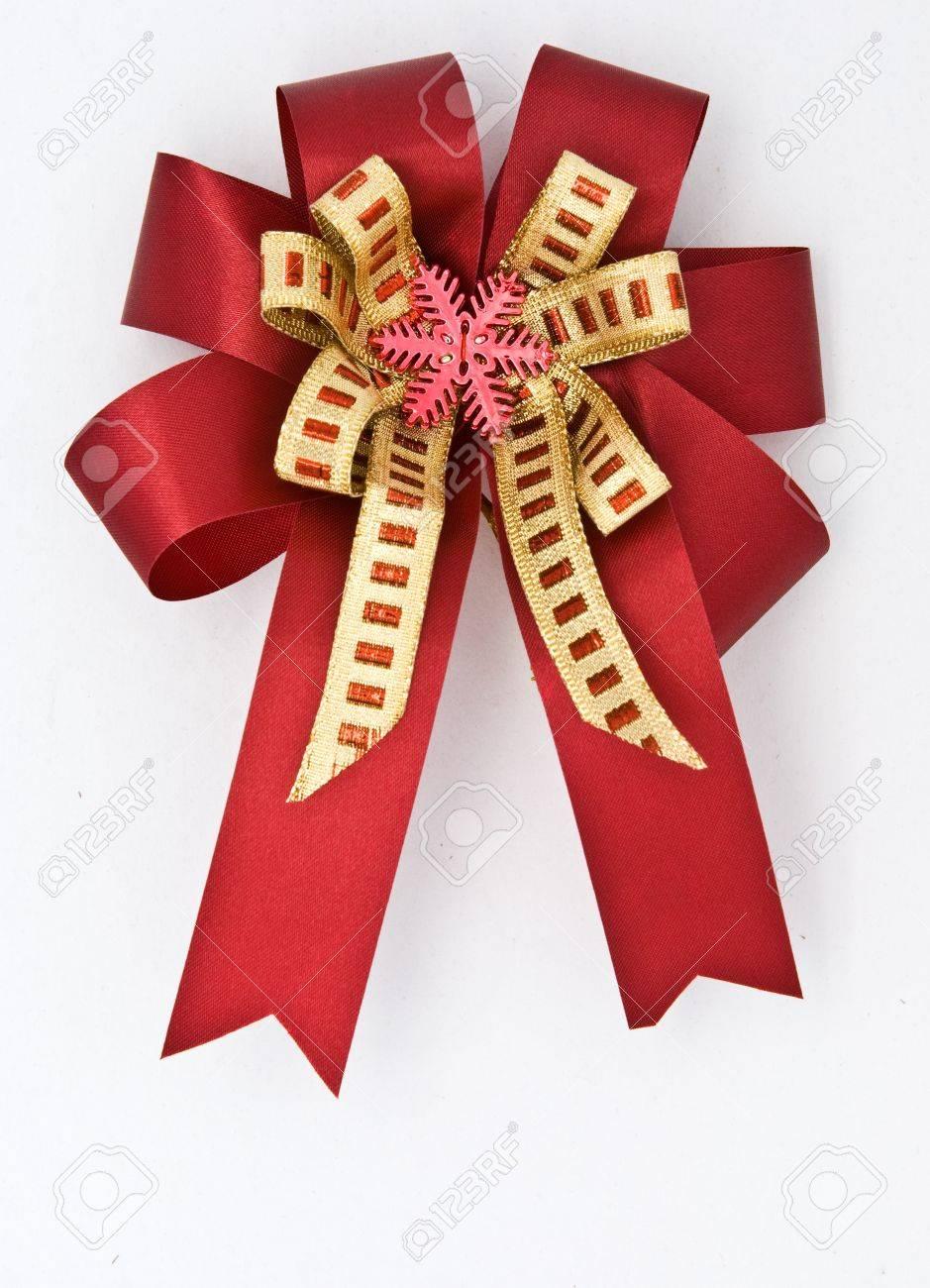 ribbon bow for gift box Stock Photo - 8521628