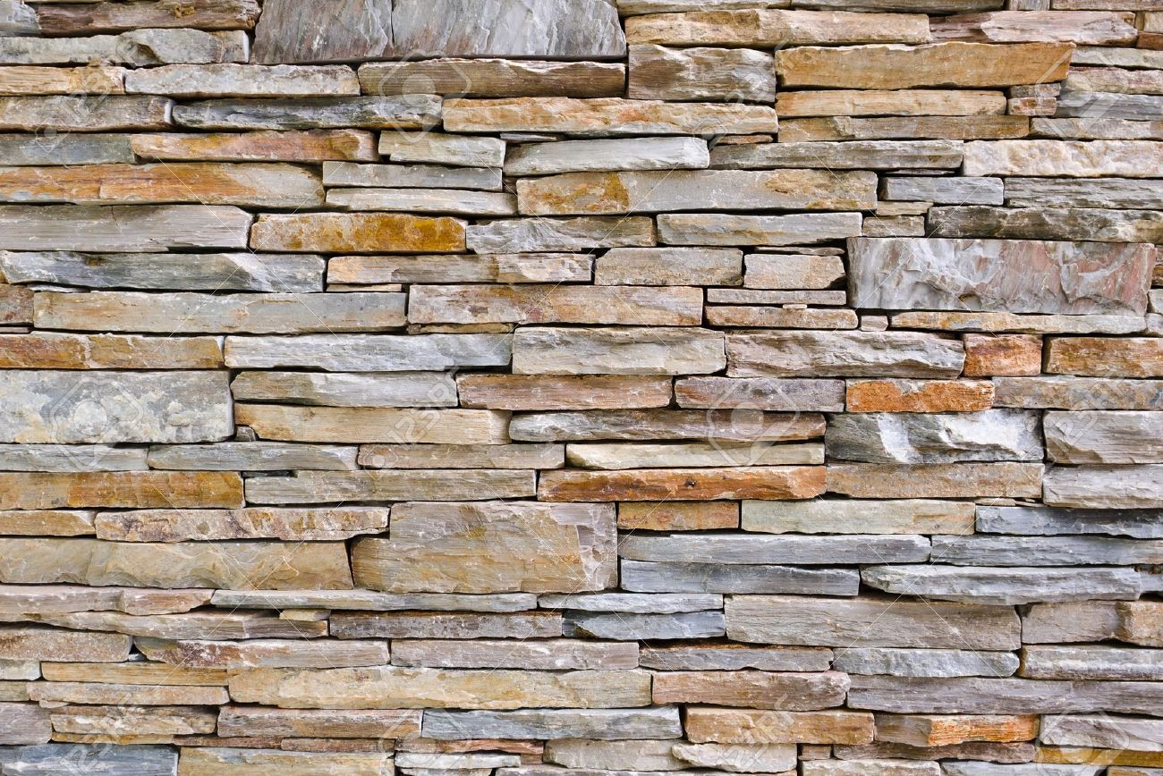 Decorative Stone Walls modern pattern of stone wall decorative surfaces stock photo