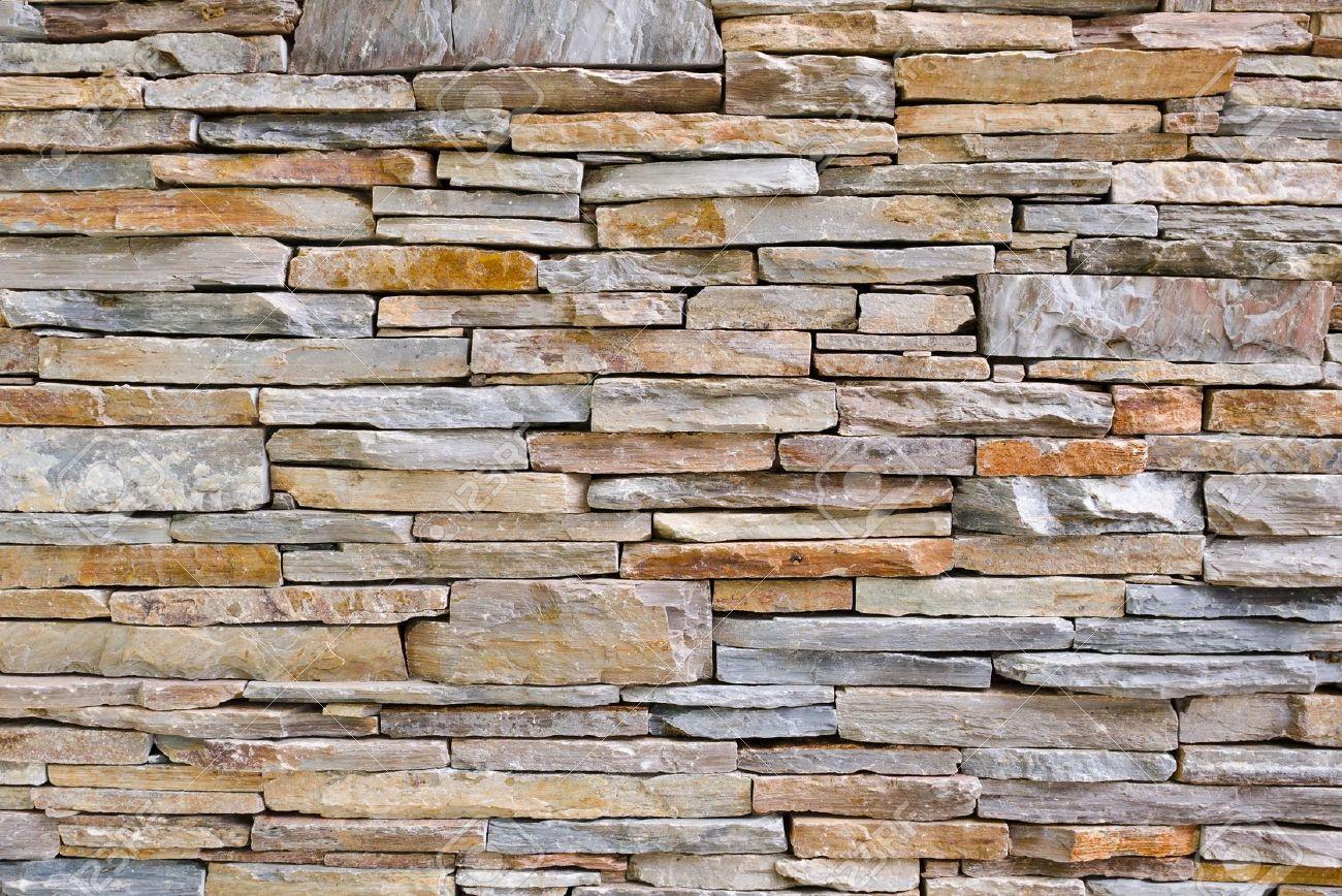Moderne patroon van stenen muur decoratieve oppervlakken royalty ...