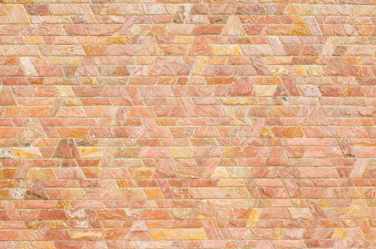 Pattern Color Of Modern Style Design Decorative Red Slate Stone ...