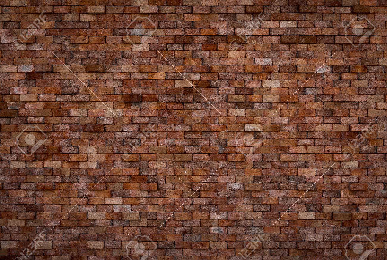 Background Of Decorative Brick Wall Texture In Horizontal View Stock Photo    31033401