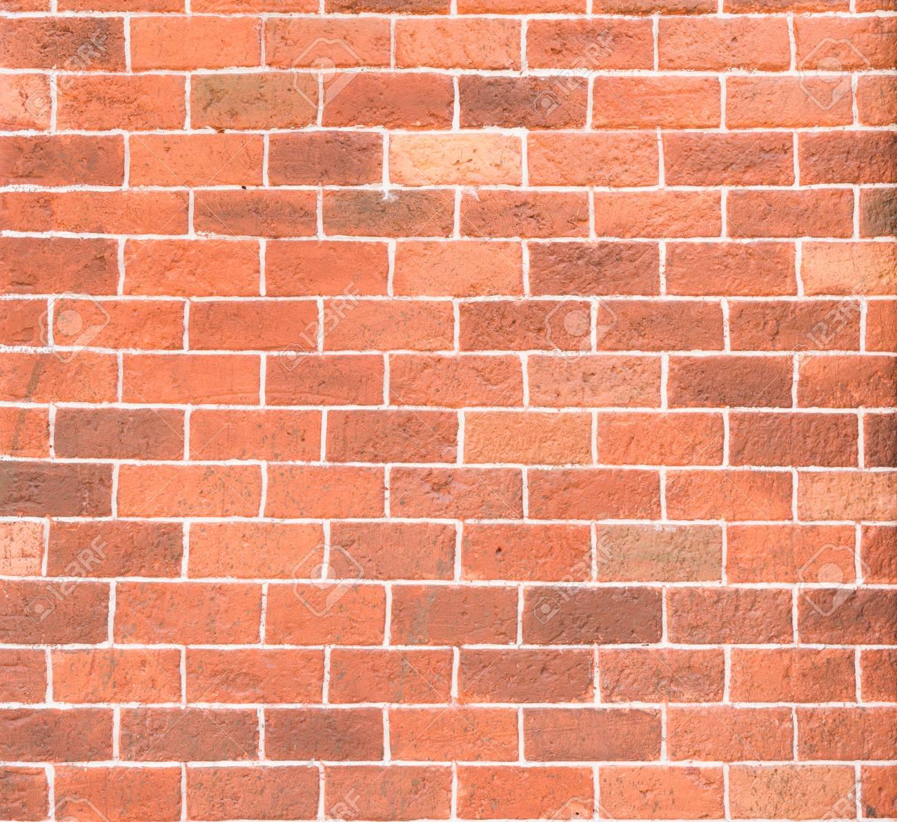 Mur En Brique Rouge fond de texture de mur de brique rouge décorative avec du ciment