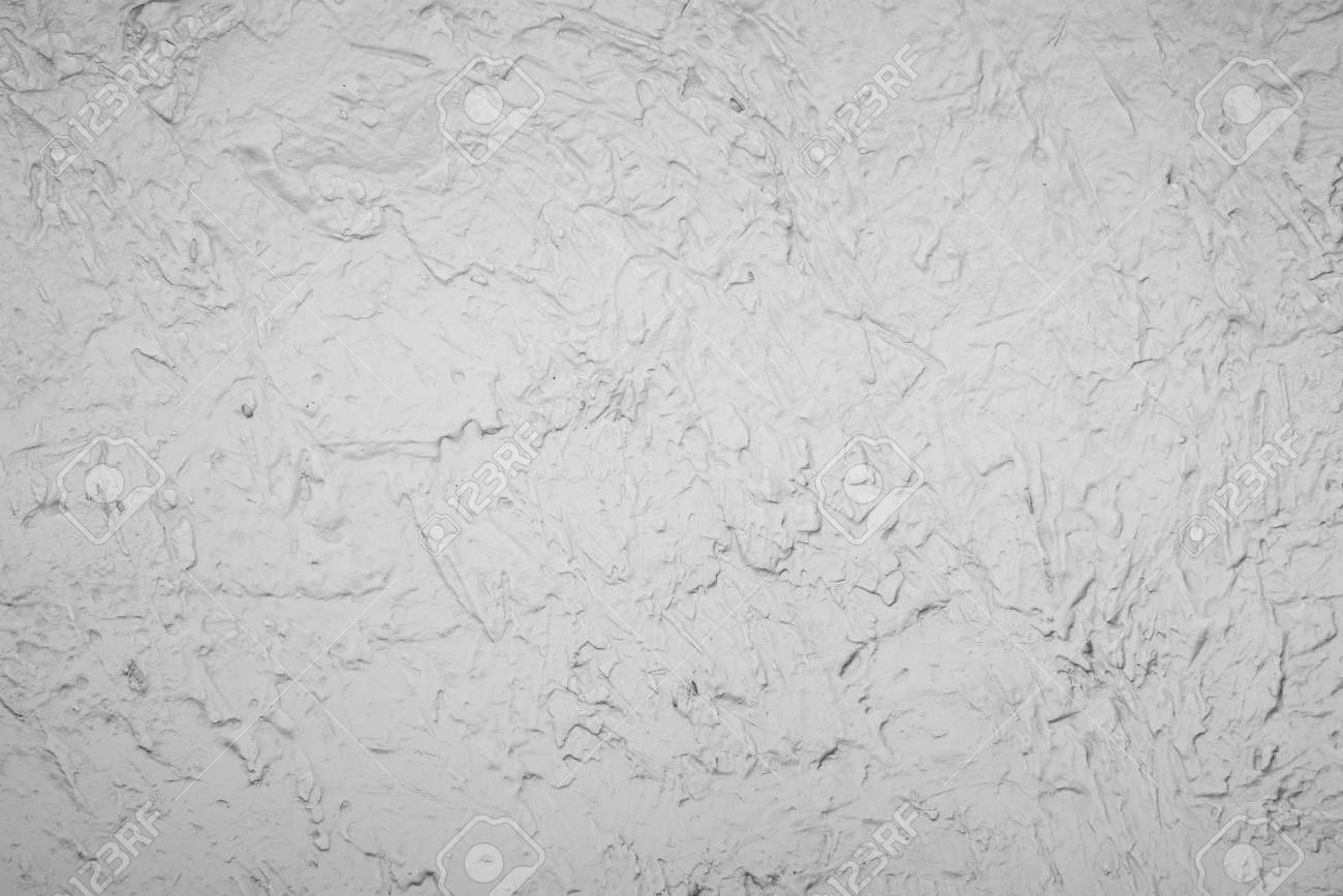 Exceptional Background Of White Decoration Cement Wall In Brush Cement Method Stock  Photo   36803847