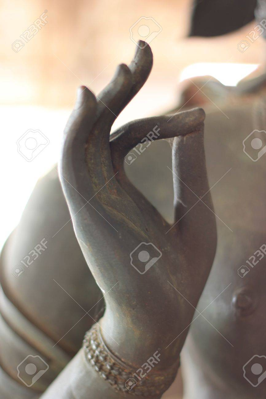 hand of Buddha image Stock Photo - 15581159