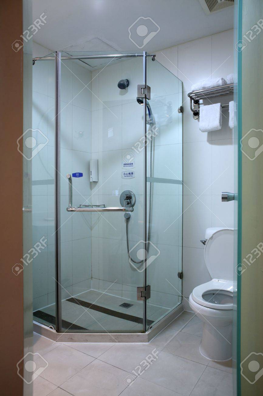 a modern, contemporary designer bathroom Stock Photo - 5205830