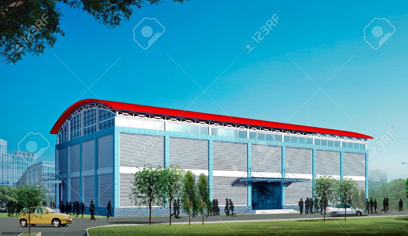 3d construction  - modern city, modern architecture and designing Stock Photo - 10194898