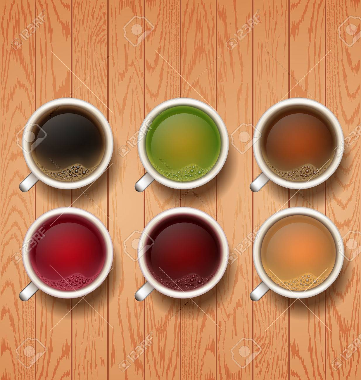 Good Morning Types Of Tea Tea Cups Cup Of Red Black Green