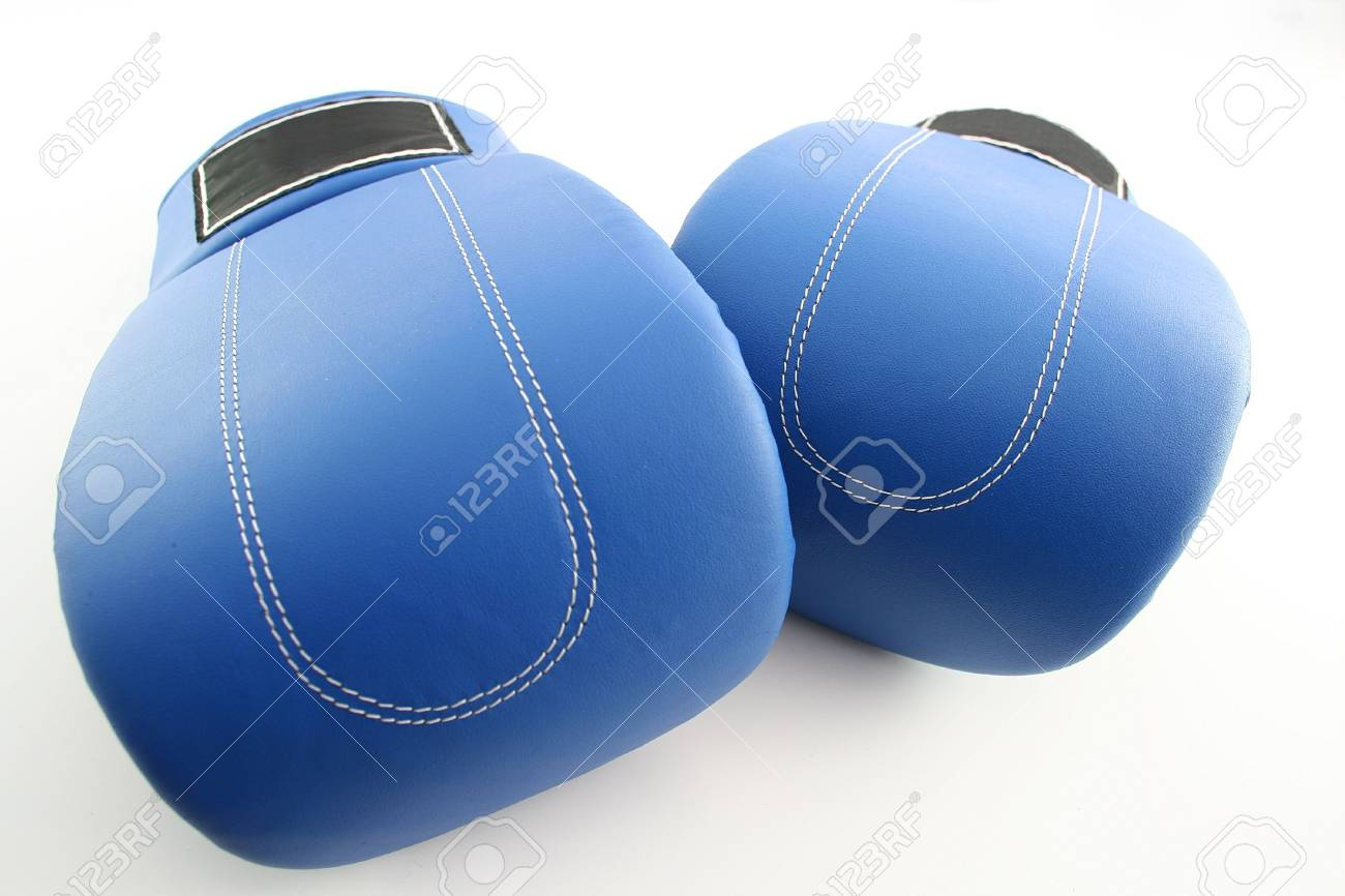 Boxing gloves on a white background Stock Photo - 413240