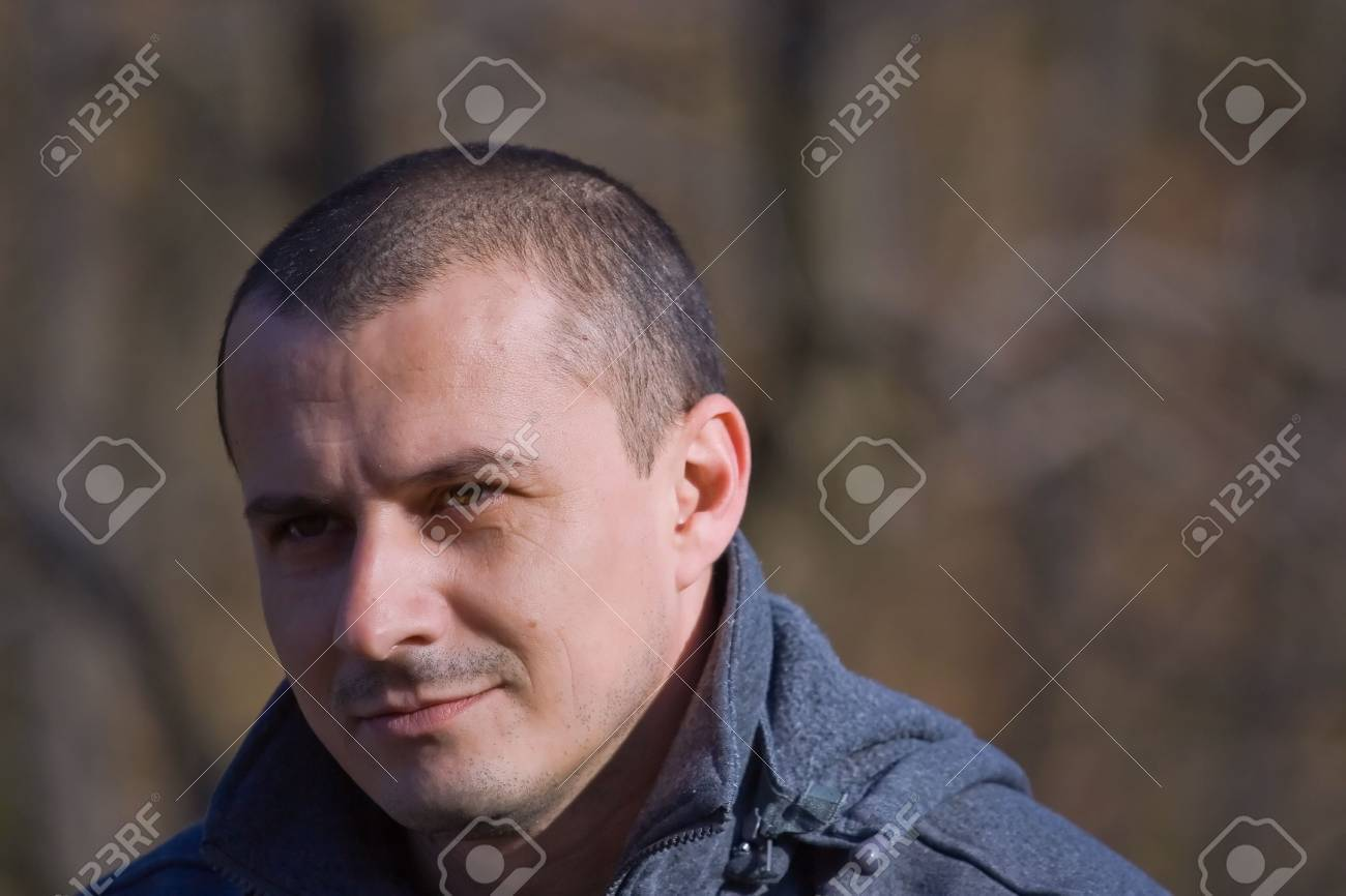 Close up portrait of a handsome man in sweater Stock Photo - 2223077