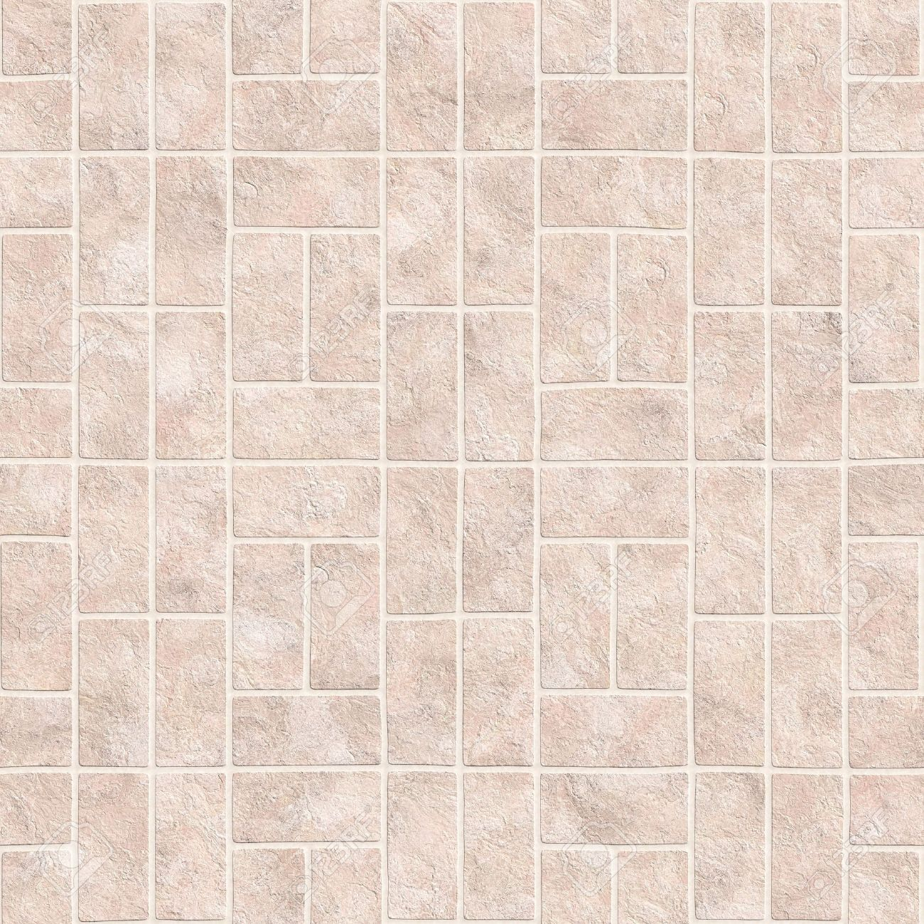 Bathroom Or Kitchen Tiles Texture In Square Format Stock Photo