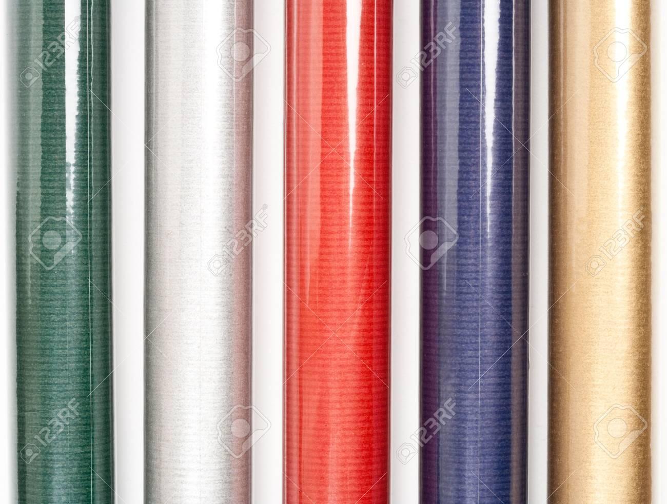 Rotoli Di Carta Colorata : Immagini stock close up di rotoli di carta colorata isolati su