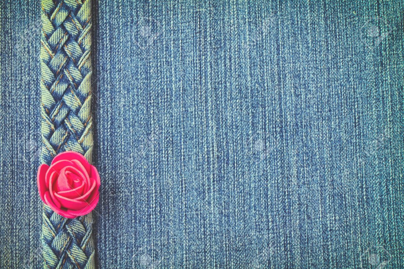 AliExpress ostaa uusi käsite blue jeans texture, denim belt braided pigtail curb, red rose,..