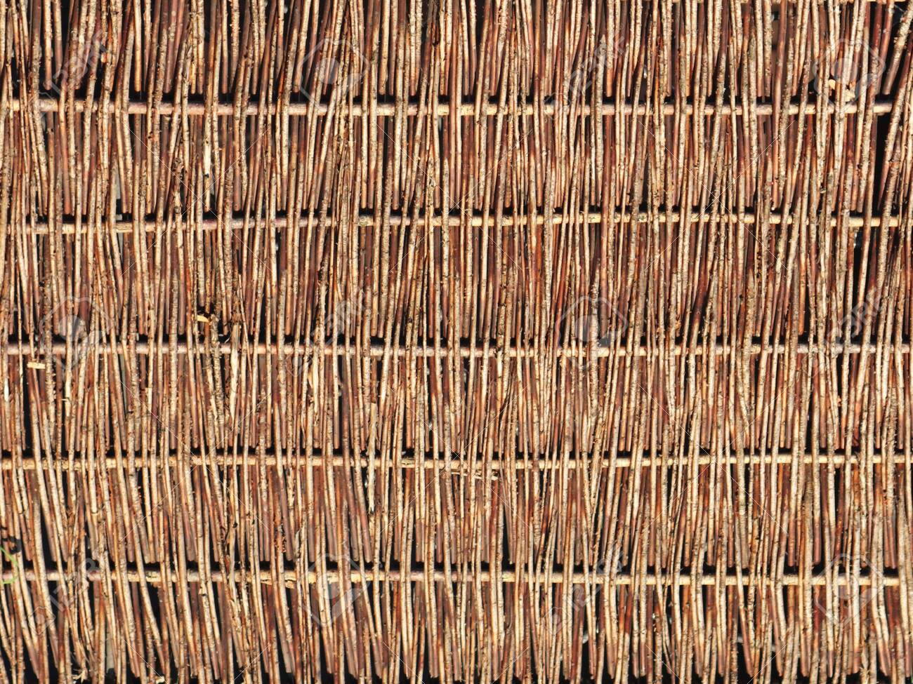 Weaving From Willow Branches Background For The Design Of Natural Stock Photo Picture And Royalty Free Image Image 138888516