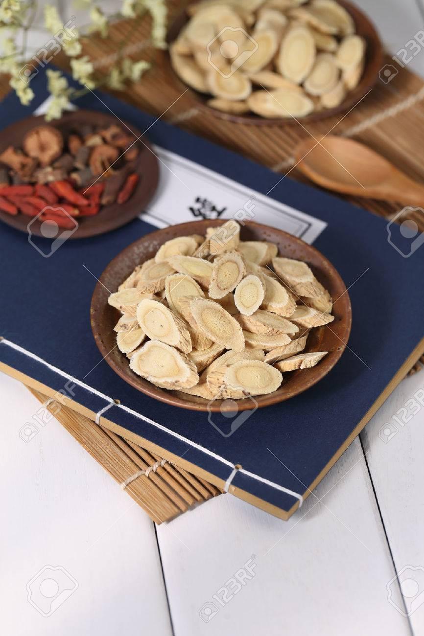 Traditional Chinese medicine Astragalus membranaceus - 65948210