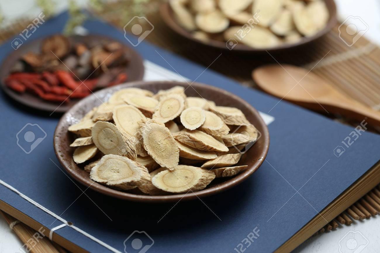 Traditional Chinese medicine Astragalus membranaceus - 65948213