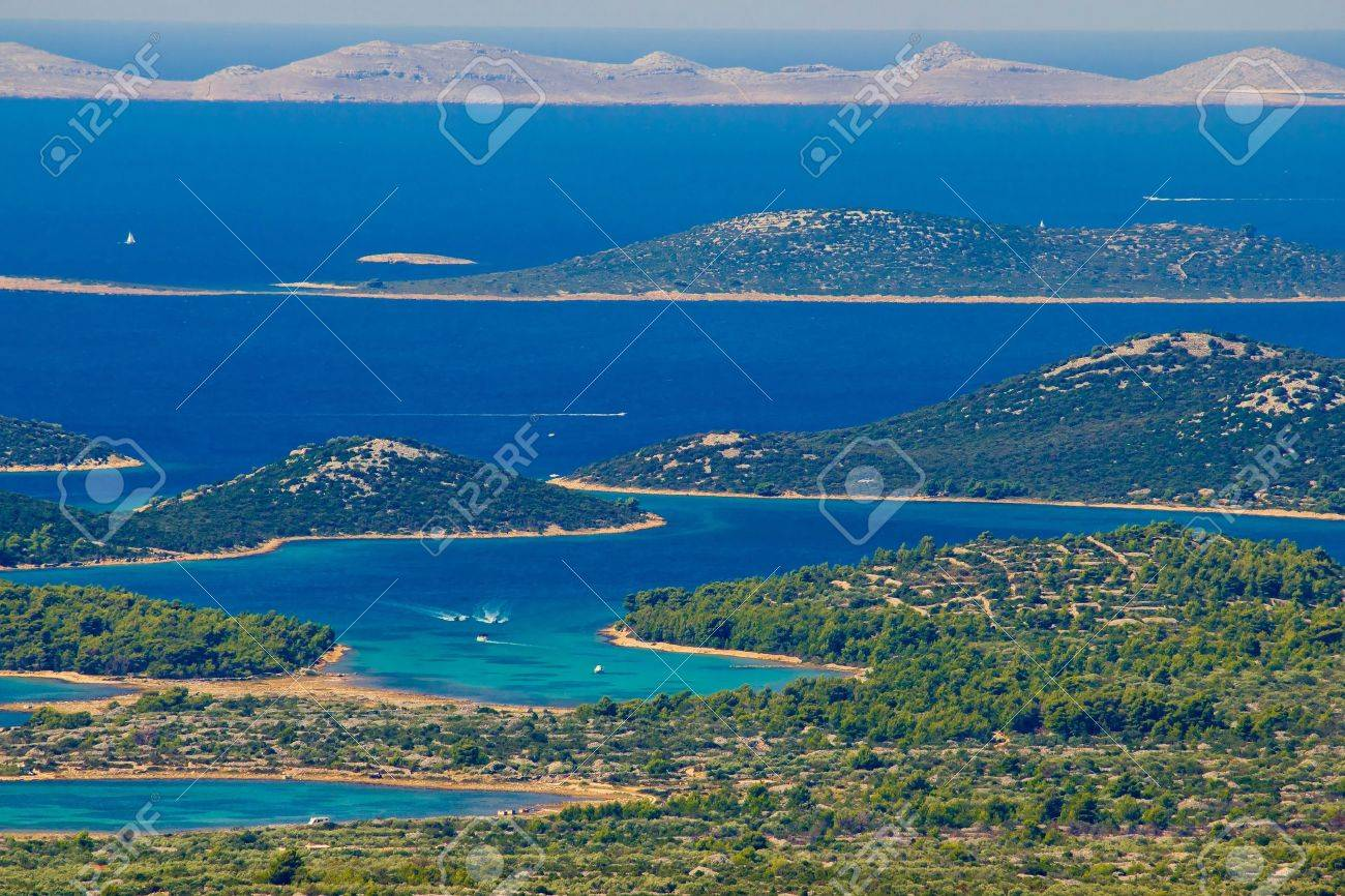 Kornati national park paradise islands, archipelago in Dalmatia, Croatia - 15844933