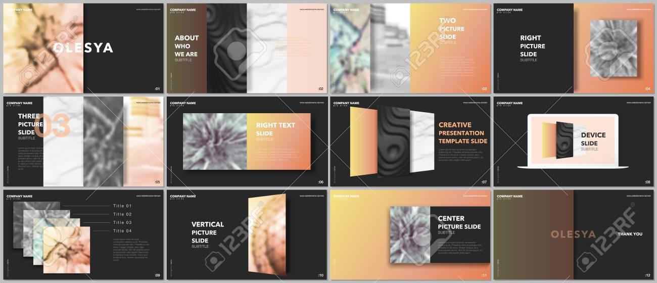 Minimal Presentations Design, Portfolio Vector Templates
