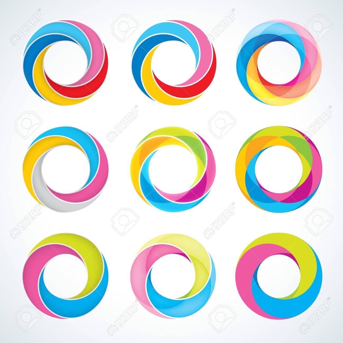 Круглый логотип на фото как сделать