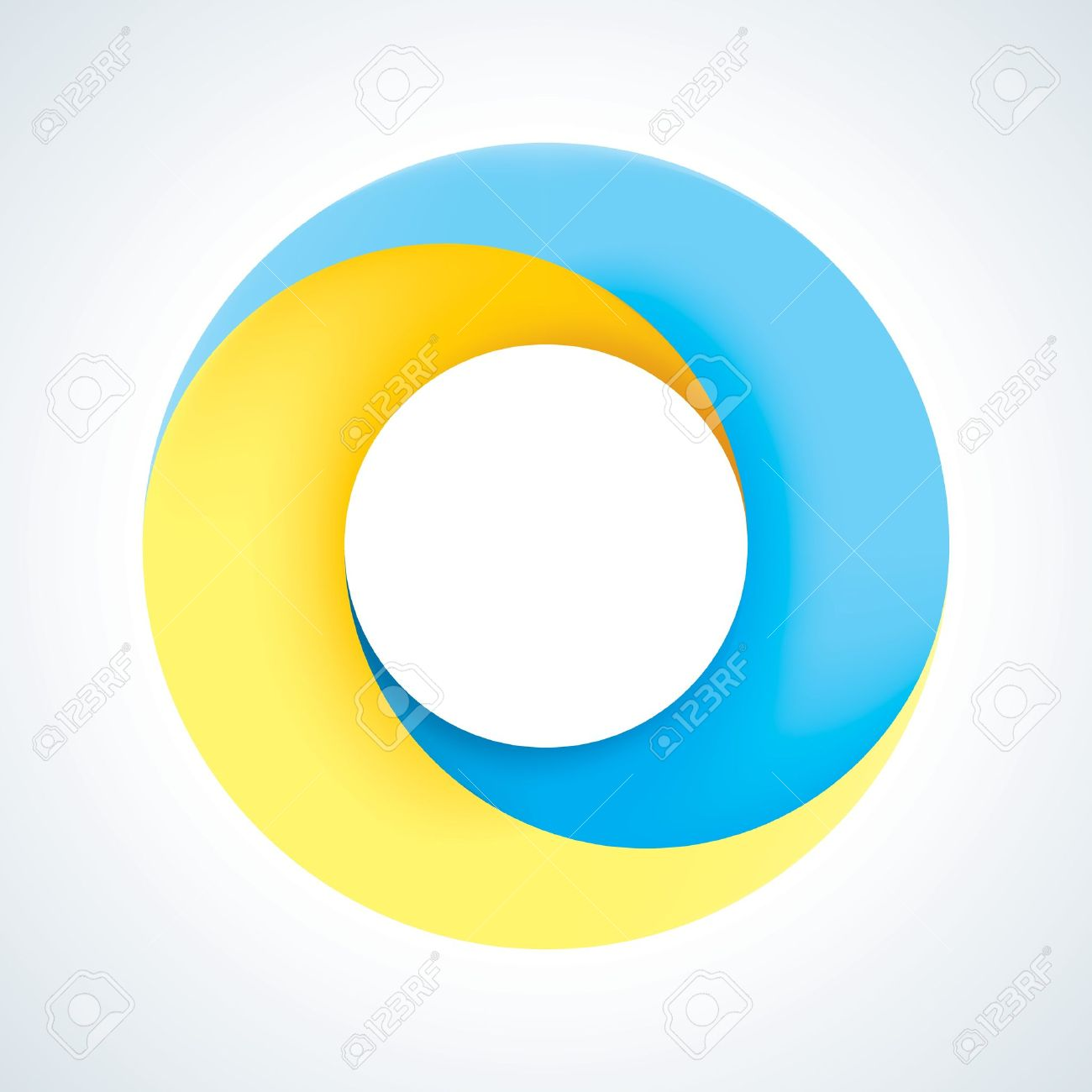 Abstract Circle Logo Template Corporate Icon Royalty Free Cliparts ...