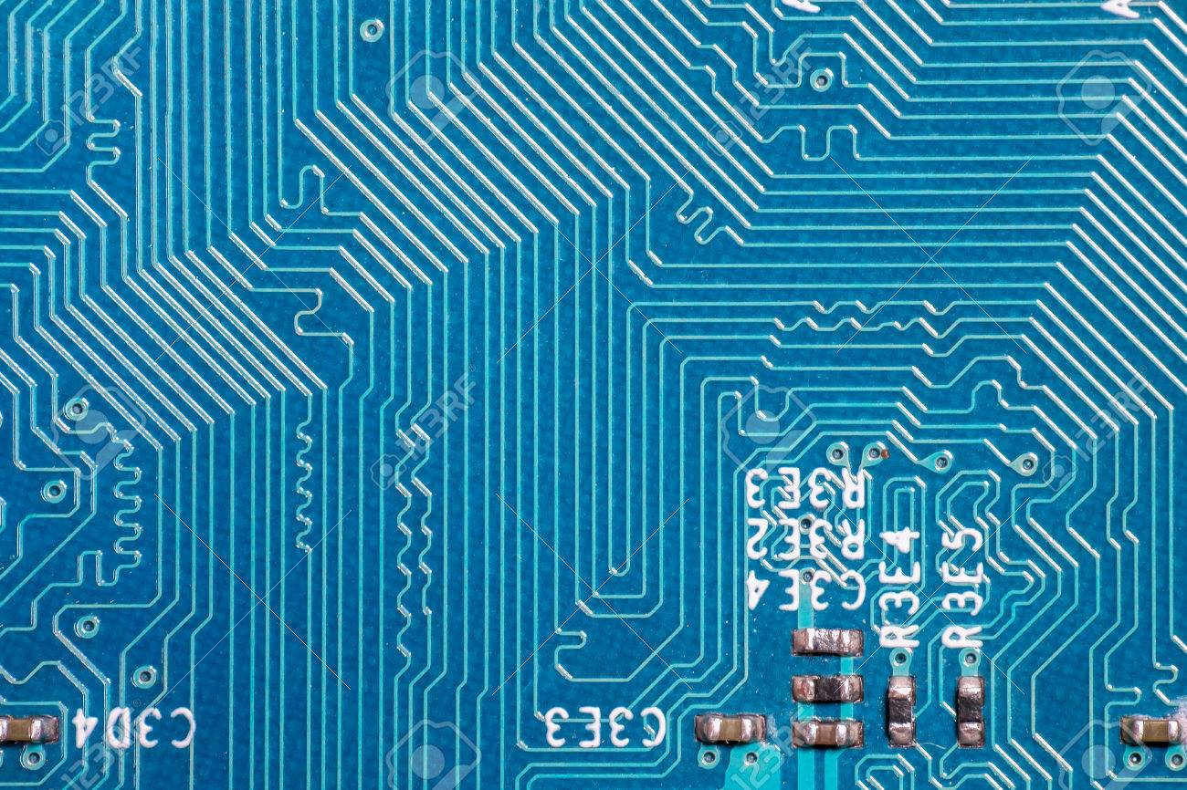 Photo Of Printed Circuit Board Pcb Path Pattern On Stock Buy Boardspcb Electronic Device The