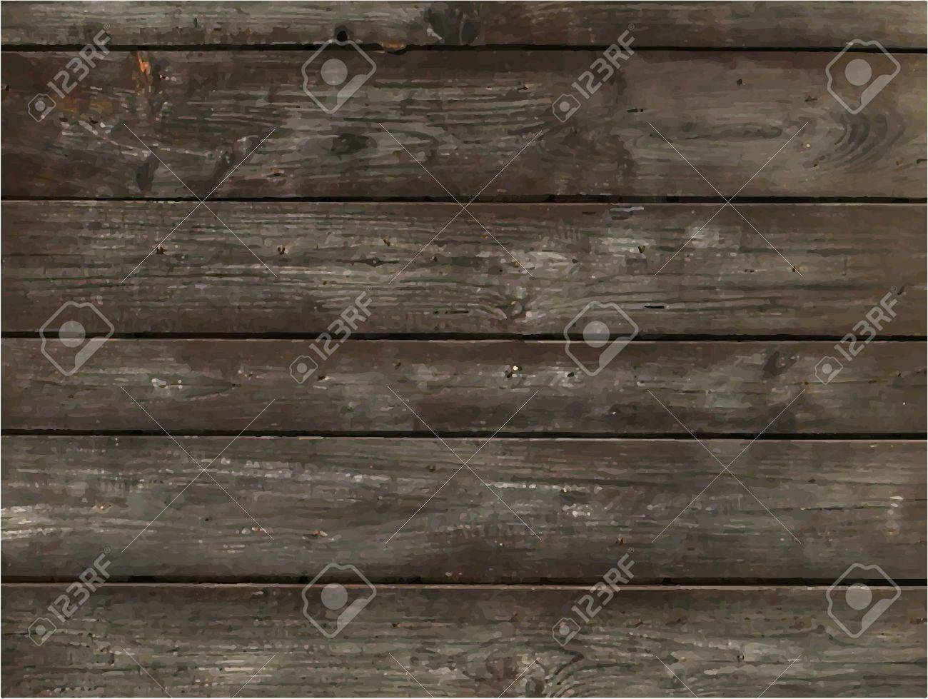 Vector seamless wood pattern. Detail of brown wood. Background. Stock Vector - 20171388