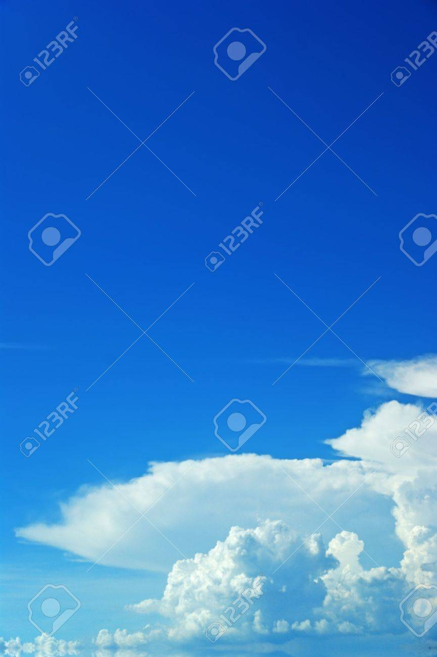 Sky clouds background  material Stock Photo - 10393254