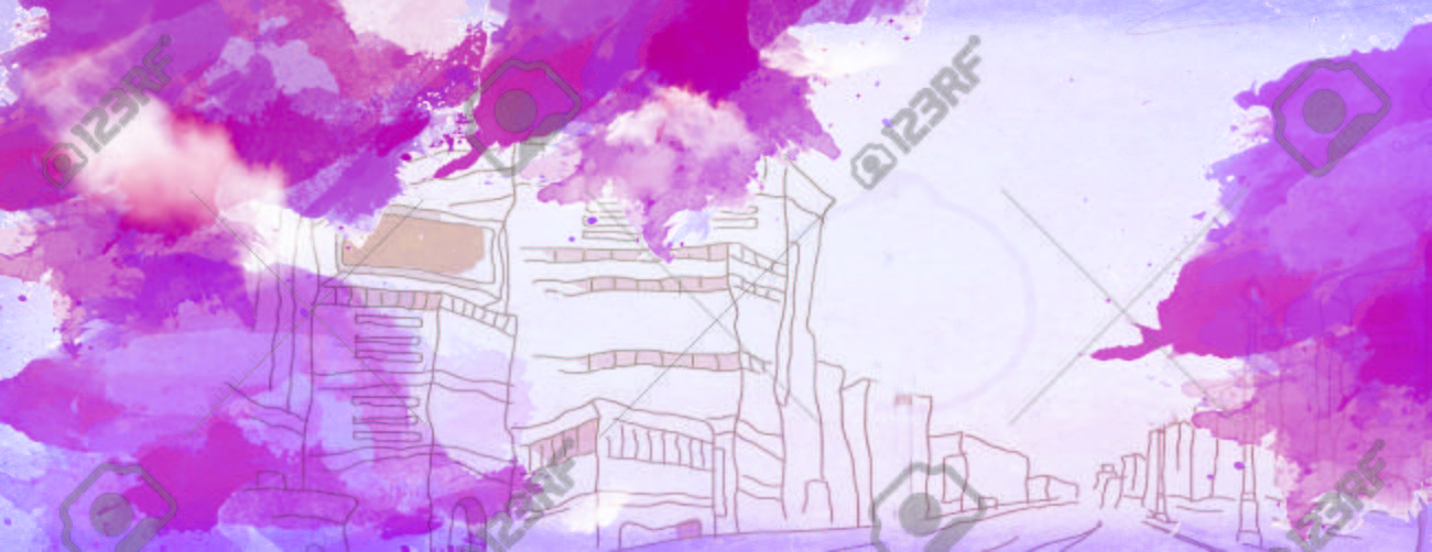 Abstract Street Drawing Stock Photo, Picture And Royalty Free Image ...