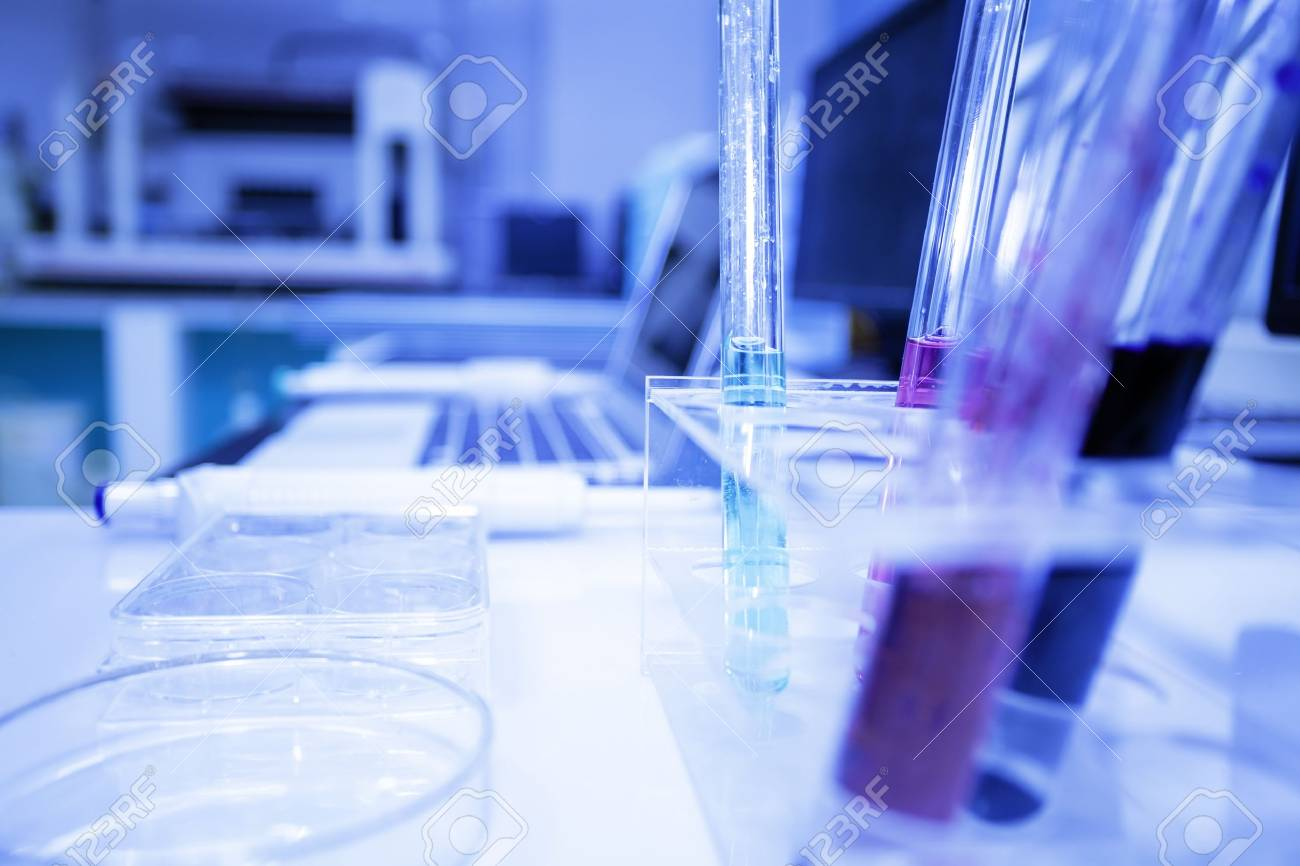 medical research in pharmaceutical factory laboratory Stock Photo - 17691990