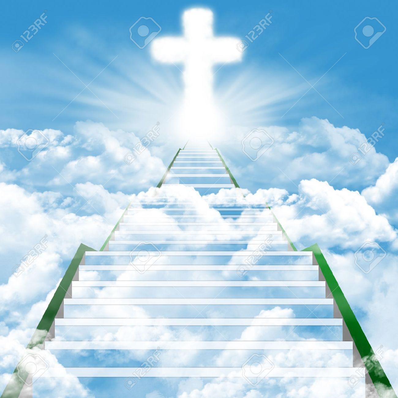 jesus in heaven  Illustration  Heaven