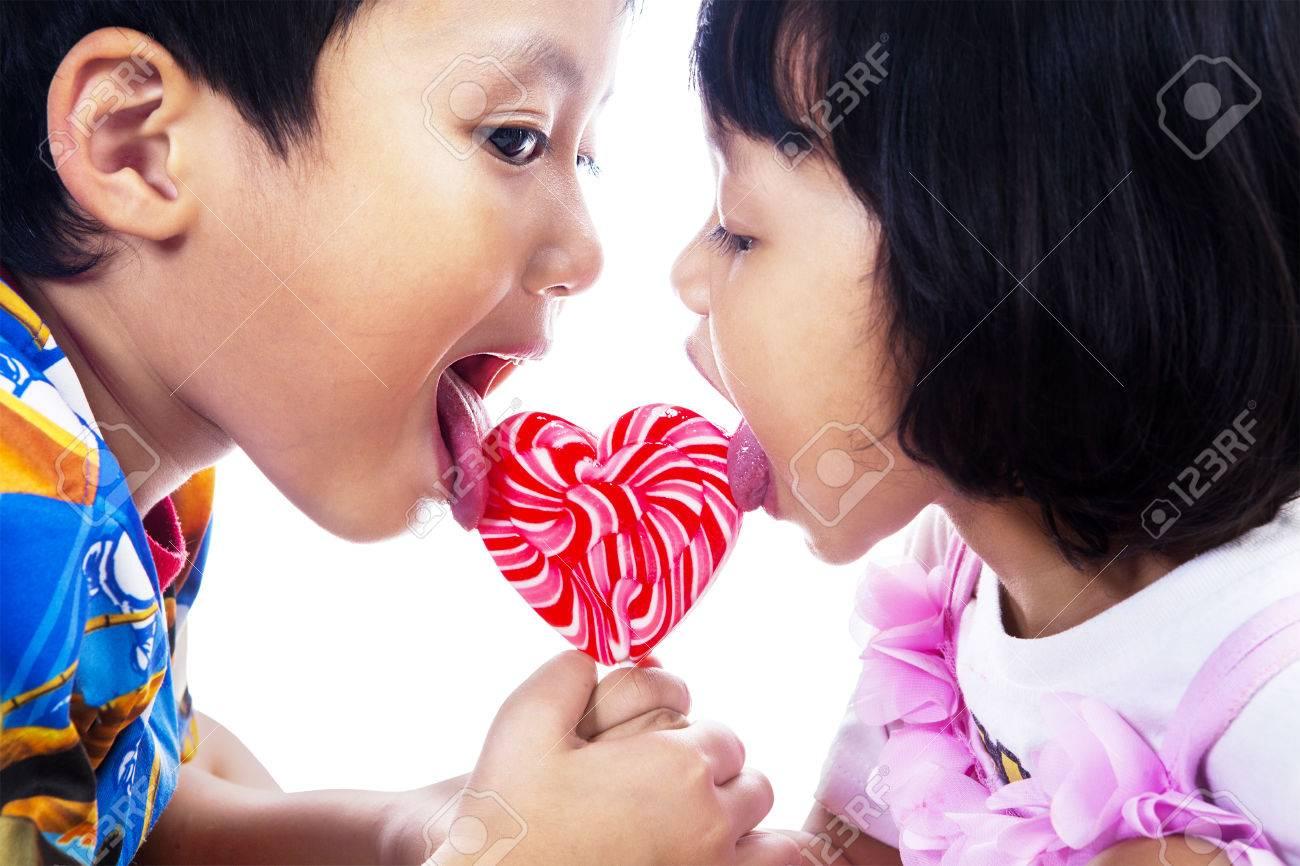 Sister lick sister
