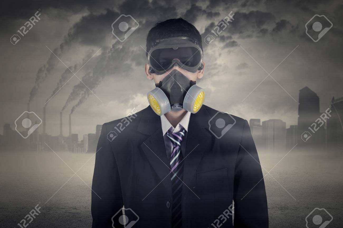 maschera antigas inquinamento