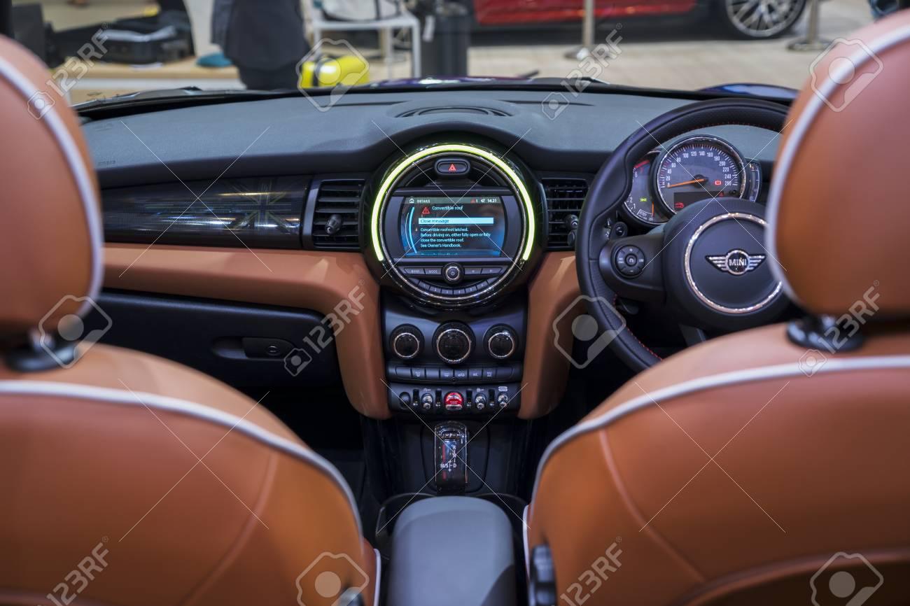 Mini Cooper Interior >> Tangerang Indonesia August 14 2018 Beautiful Interior Of
