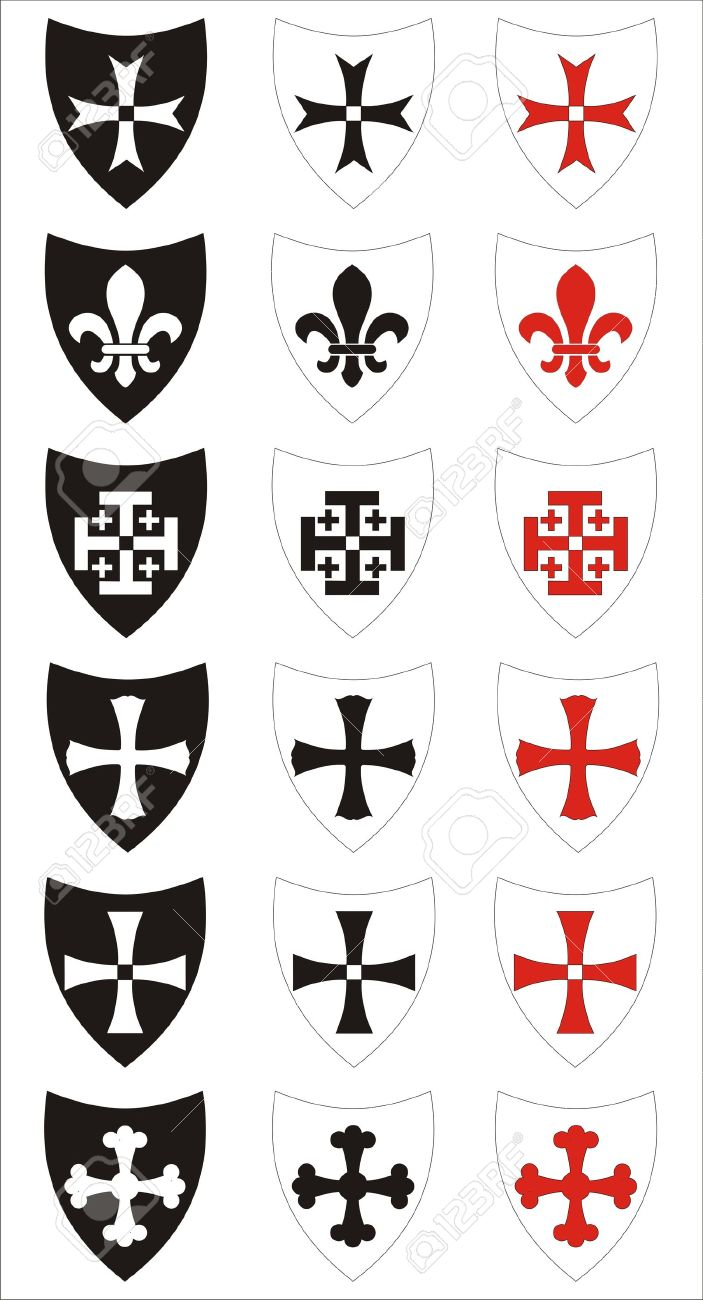 Medieval Heraldry Symbols And Meanings 69393 Timehd