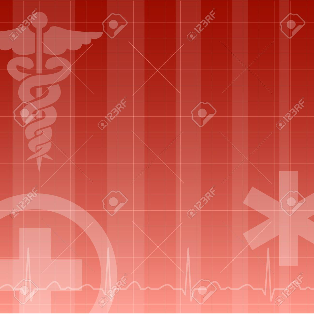 medical background Stock Vector - 9302829