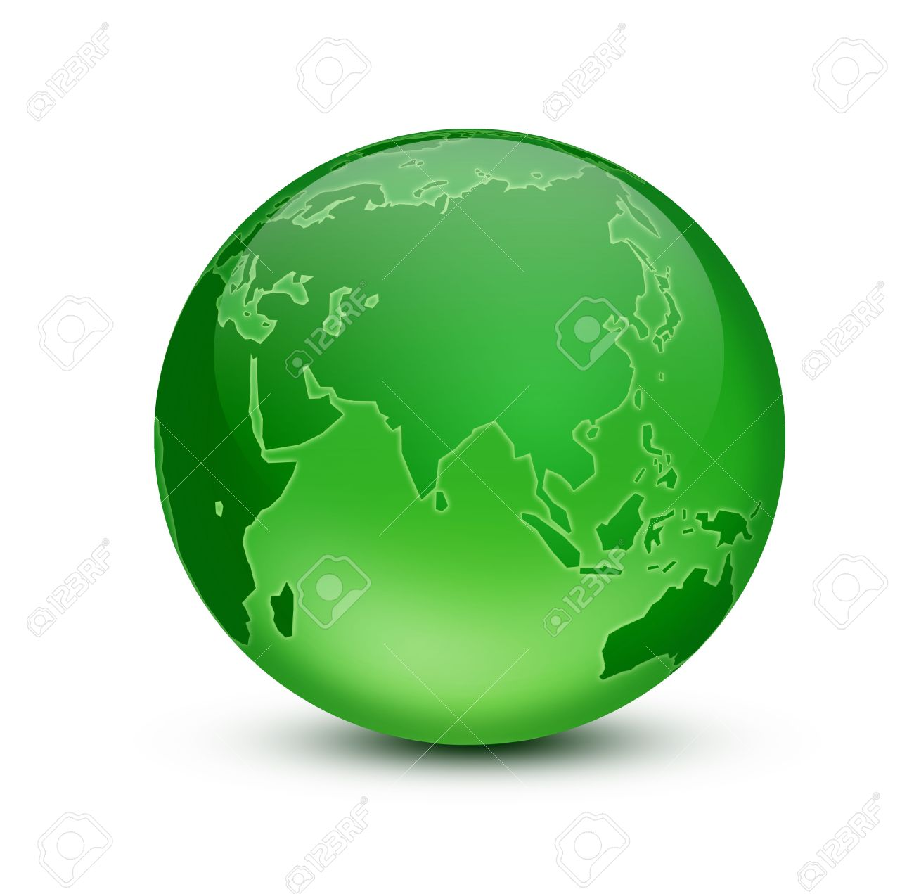 Green Earth Stock Photo Picture And Royalty Free Image Image 5210657