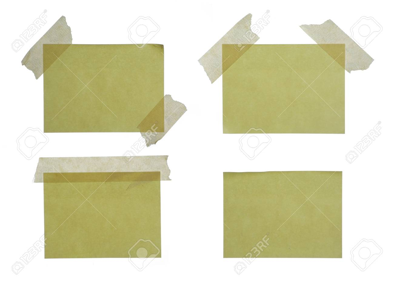 Close up of reminders on white background Stock Photo - 5942866