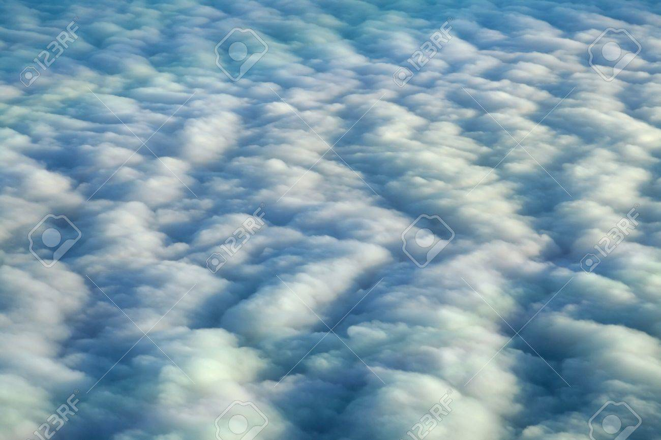 541798-overcast-clouds-from-above-Stock-