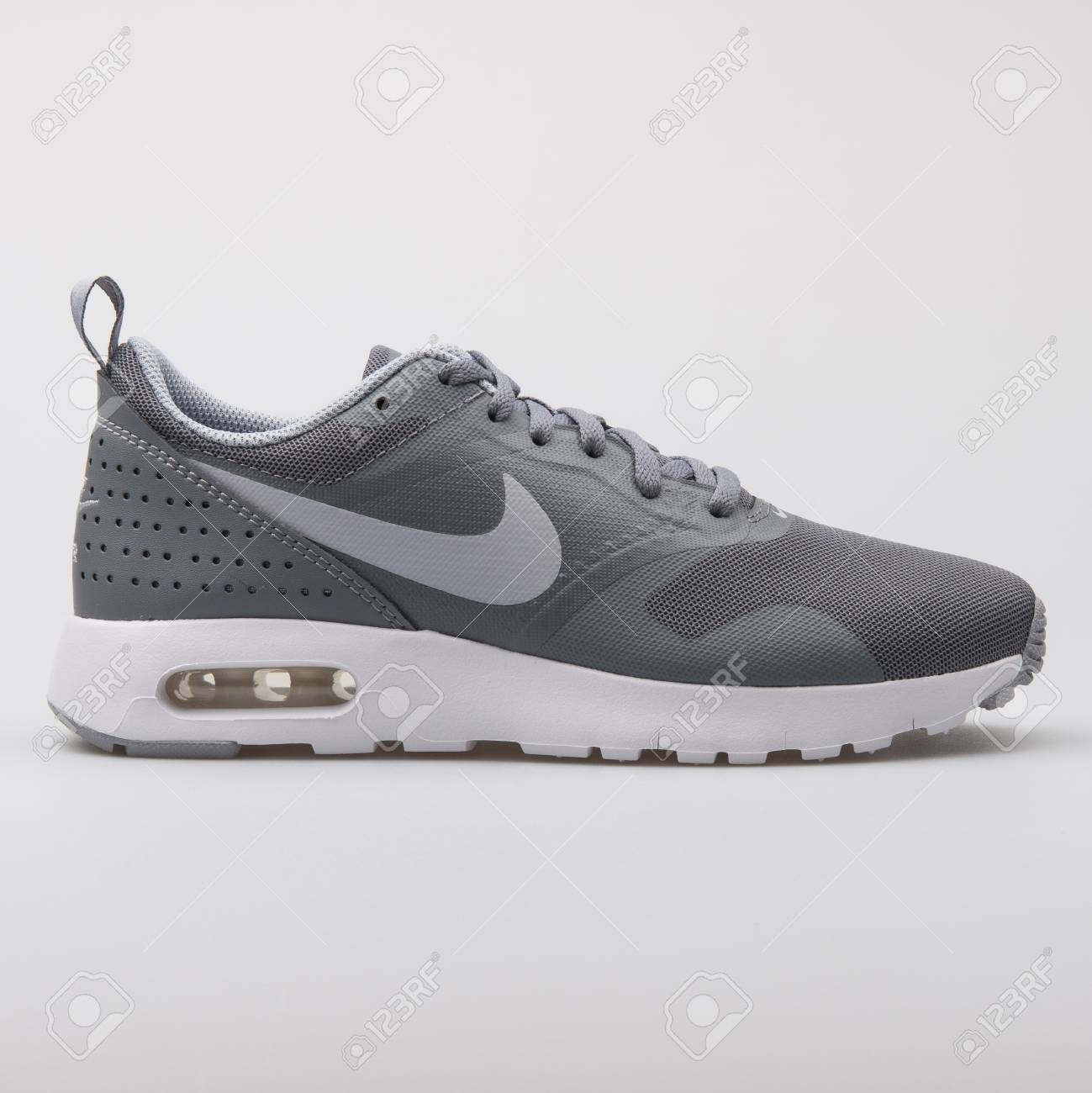 VIENNA, AUSTRIA AUGUST 7, 2017: Nike Air Max Tavas grey and..